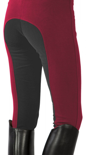 pregnancy riding breeches red-grey